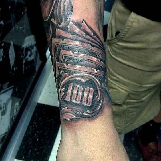 nice Top 100 money tattoos - http://4develop.com.ua/top ...