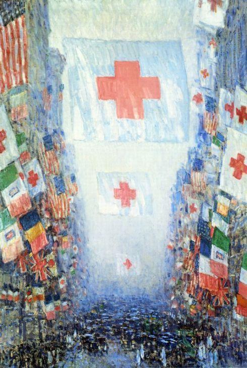 Frederick Childe Hassam, Celebration Day (1918)