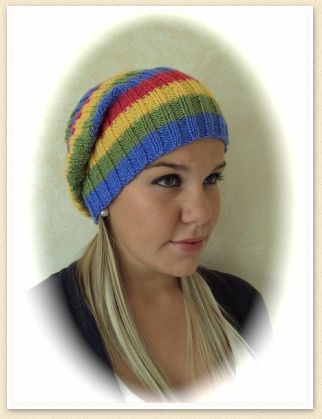 DK Knitted Beanie Hat free knitting pattern knitting hat ...