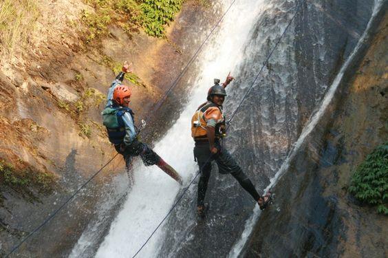 Canyoning in Nepal at Jalberi Canyon www.grgadventurekayaking.com