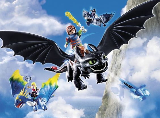 Drachen aus PLAYMOBIL Dragons