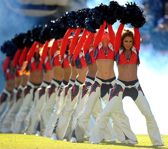 18 Denver Broncos Cheerleaders | Sports