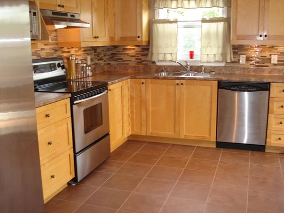 Kitchen Flooring Option: Kitchen Flooring Option Simple Brown ~ Kitchen Inspiration
