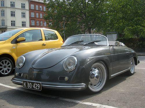 porsche 356 cabriolet 1952 года