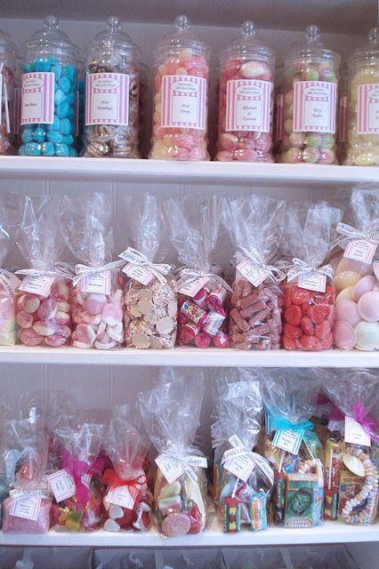 Mrs. Kibbles Sweet Shop, London.