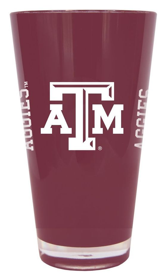 Texas A&M Aggies 20 oz Insulated Plastic Pint Glass