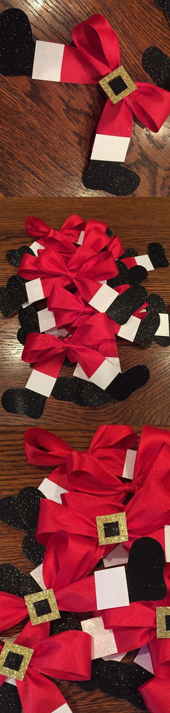 Santa Belt Ribbons
