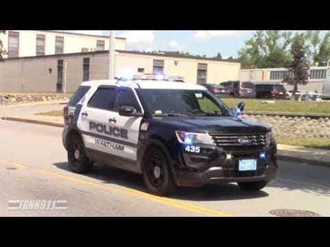 Waltham Ma Police Car 435 Responding Police Policecar Policevideo Policecarresponding Waltham Walthampd Police Car Videos Police Cars Car