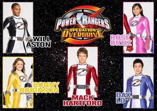 Power Rangers Operation Overdrive | Power Rangers Operation … | Flickr