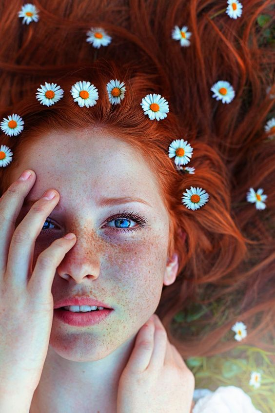 photography portrait nature red hair long hair Freckles Maja Topcagic Asima Sefic love love love, how i wish i was a redhead
