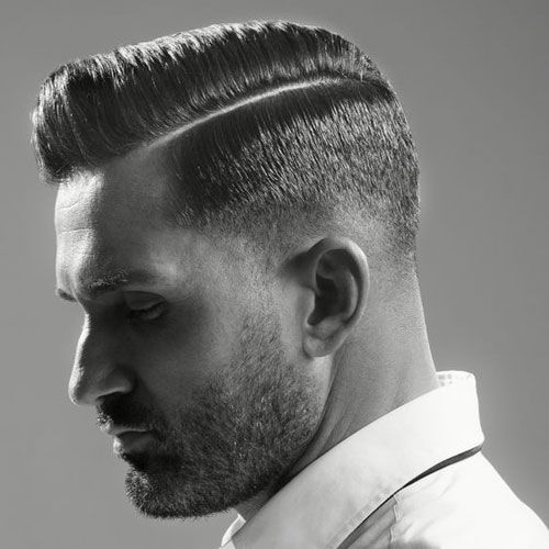 Peigne Sur Les Coiffures Pour Les Hommes 2018 Frisuren Haarschnitt Mannerhaar