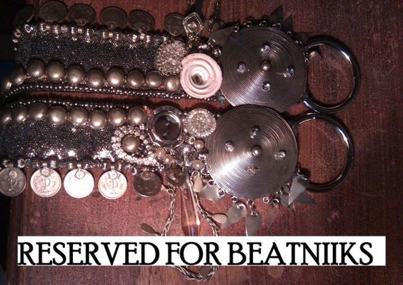 RESERVED FOR BEATNIIKS part 2 of 4 super sparkly no by SashBalogh, $70.00