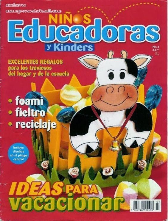 Revista ideas para ni os manualidades revistas - Manualidades navidenas faciles para ninos ...
