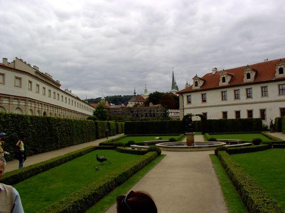 prag, waldstein garden