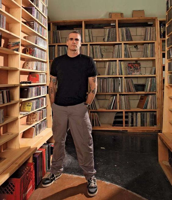 No music here. Just a kickass photo of my guardo camino, Henry Rollins. Great article about his love of vinyl and disdain of CDs and (especially) MP3s.