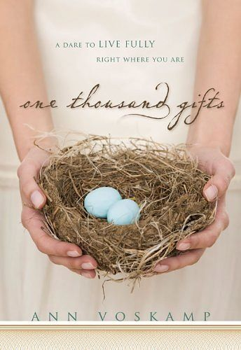 One Thousand Gifts/Ann Voskamp: I have actually been reluctant to re-read this book, afraid that it would resonate less than it did the first time. I shouldn't have worried. Gratitude, grace, and a good God can never be preached too often. The chapter on trust and stress remains my favourite.