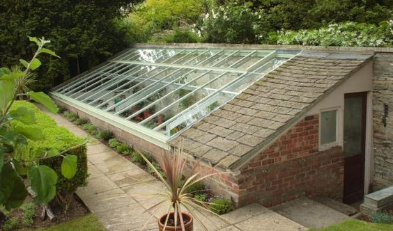 Lean-to | Glasshouse Collections | Griffin Glasshouses | Beautiful Glasshouses of Distinction | Glasshouse Design Guide: