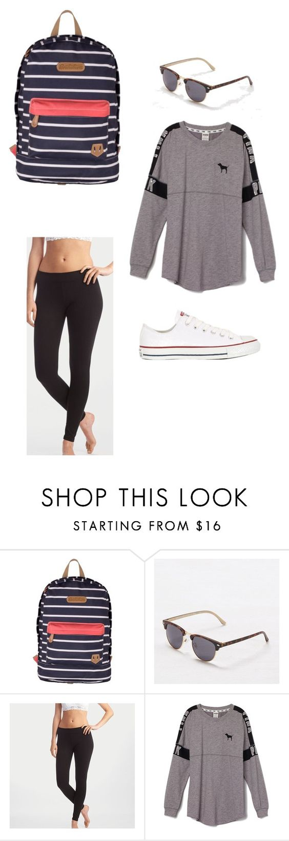 """""""Plain spring break"""" by katelyn-rose3088 ❤ liked on Polyvore featuring Brakeburn, American Eagle Outfitters, Aerie, Victoria's Secret PINK, Converse, women's clothing, women, female, woman and misses"""