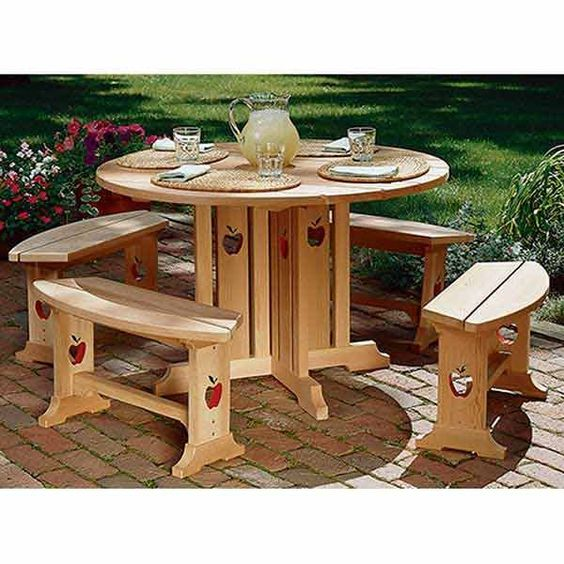 Apple Patio Table