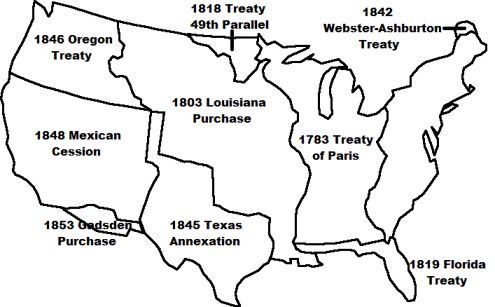 Manifest Destiny Map | Social Stus Teaching Ideas ... on gadsden purchase, wilmot proviso, destiny old russia map, compromise of 1850, the alamo map, indian removal act map, mexican cession map, united states map, destiny usa map, santa fe trail map, mexican cession, monroe doctrine, lewis and clark map, good neighbor policy map, gadsden purchase map, missouri compromise, gettysburg address, kansas-nebraska act, kansas-nebraska act map, treaty of guadalupe hidalgo map, mississippi river map, compromise of 1850 map, knights of the golden circle map, indian removal act, jim crow laws, trail of tears, texas annexation, gold rush map, lewis and clark expedition, trail of tears map, texas annexation map, louisiana purchase map, industrialization map, open door policy, treaty of guadalupe hidalgo, war of 1812,