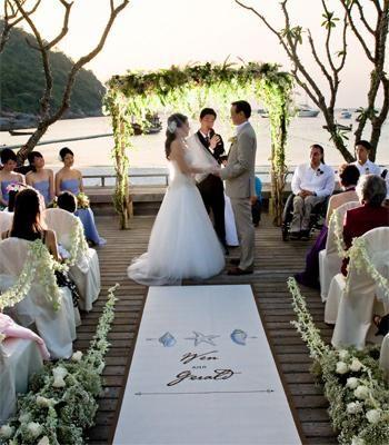 All Inclusive Resort Wedding In Thailand