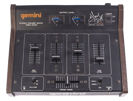 Gemini Pmx 2200 Jazzy Jeff Limited Edition Old School