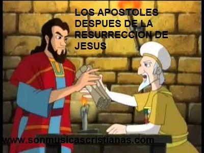 Los Apostoles Despues De La Resurreccion De Jesus