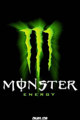 Monster Energy Iphone Wallpaper Grab One Of Our Brands Iphone Wallpapers For Your Iphone Or Ipod Touch Wal Monster Monster Energy Monster Energy Drink Logo