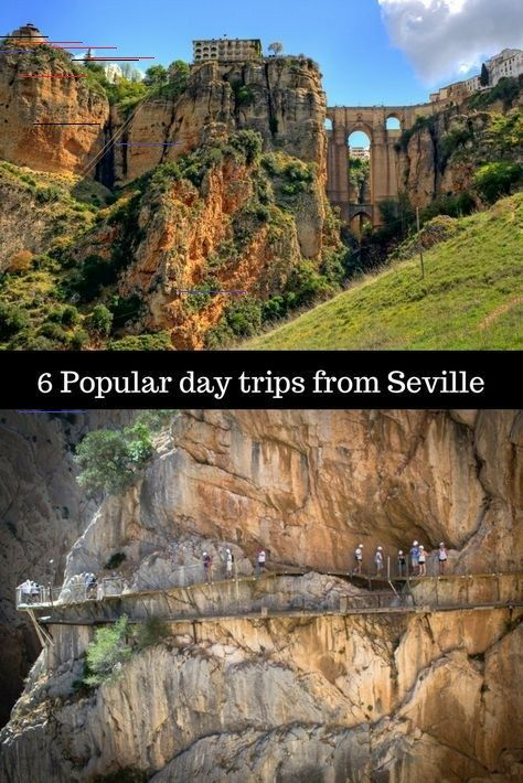 6 Popular Day Trips From Seville Spain In 2020 Spanien Andalusien Andalusien Portugal Spanien