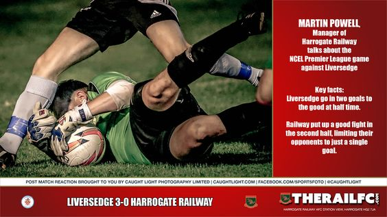 Martin Powell's post match reaction to the Liversedge result    @therailfc