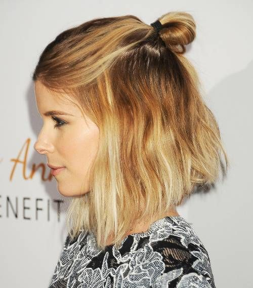 10 Cool And Easy Buns That Work For Short Hair Hair Styles