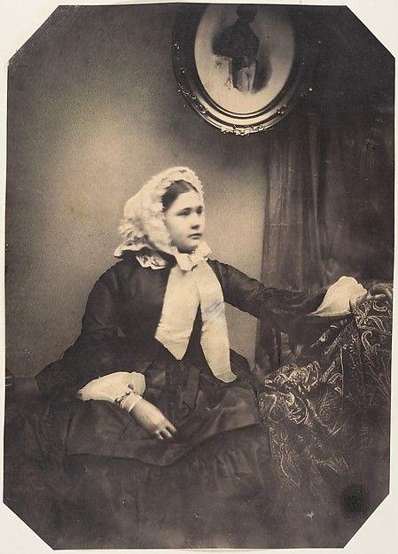 Louis-Pierre-Théophile Dubois de Nehaut | Mlle. Jeanne tellement tremblante que le photographe ne peut pas fixer les yeux | The Met: