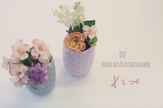 Jessis DIY: Vasen aus Plastikflaschen