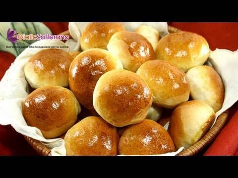 Milk rolls ( panini al latte ) recipe - YouTube http://www.youtube.com/watch?v=thkyO99mRBU