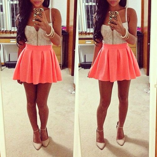 Skirt tumblr Crop tops and Skirts on Pinterest