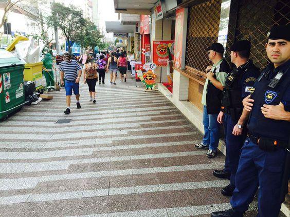 09/03/2016 - Operação Centro Limpo da Fiscalização de Caxias do Sul, RS: