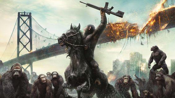 Planeta dos Macacos  O Confronto ღ  Filmes completos dublados lançamento