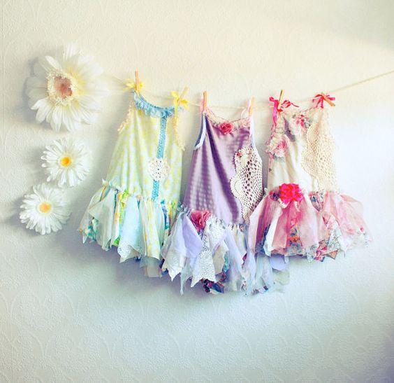 Cute! Party or flower girl dresses for little girls~