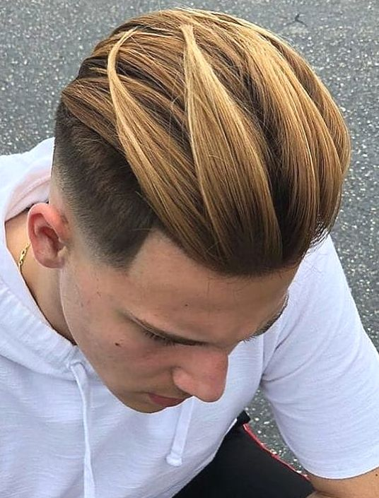 41 Trendy Medium Length Hairstyles For Stylish Men 2019 Update Mens Hair Colour Hair Styles Fade Haircut