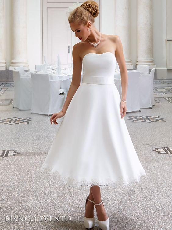 Brautmode, Standesamtkleider von Bianco Evento: Peonia