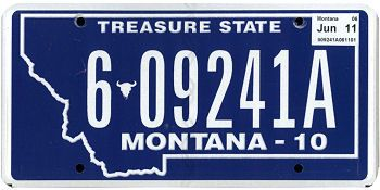 cars montana and license plates on pinterest. Black Bedroom Furniture Sets. Home Design Ideas