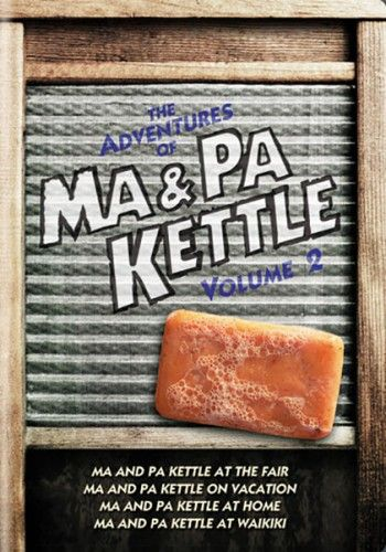 The Adventures Of Ma And Pa Kettle, Vol. 2 DVD |Movies, Films & TV Shows on DVD | TCM Store