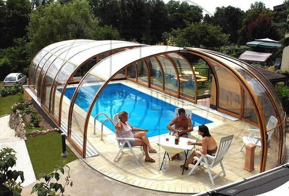 I want this retractable pool cover for my future pool pool pinterest products pools for Retractable swimming pool covers