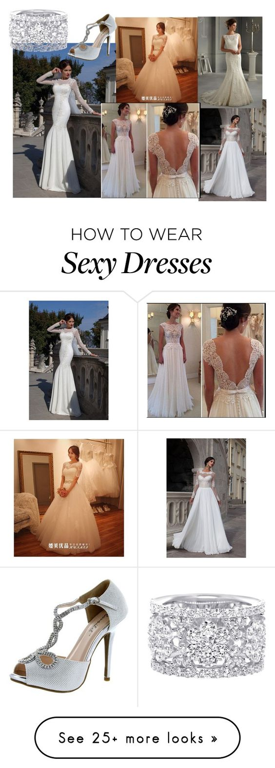 """""""Untitled #73"""" by cdeidara on Polyvore featuring Beautiful Wedding and Bonnibel"""