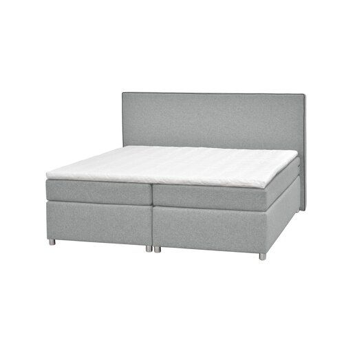 Boxspringbett 1903 Mit Topper Bepema Farbe Hellgrau Liegeflache 140 X 200 Cm Matratzenart Hartegrad 7 Zonen Tonnentaschenfederkernmatratze H2 Furniture Bed Home Decor