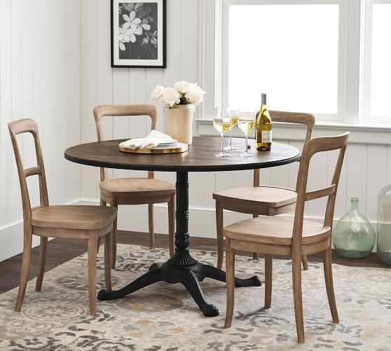 Cline Bistro Dining Chair | Round pedestal dining table ...