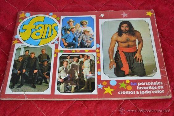 ALBUM DE CROMOS AÑOS 70/80 ORIGINAL ÁLBUM FANS – 1976