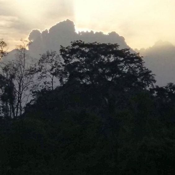 Sundown from La Casa del Mango.  #cahuita #costarica #caribbean #nofilterneeded #puravida #descubrecostarica #visitcostarica_pr
