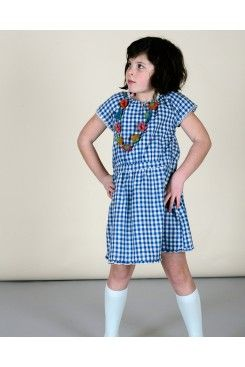 Gingham Pia Day Dress