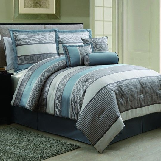 Franklin 7 Piece Jacquard Comforter Set $120.00